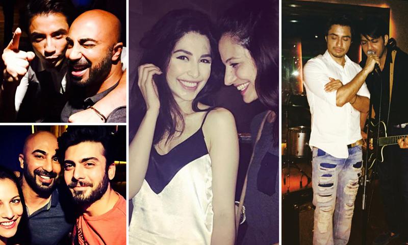 Ali Zafar Parties Like A 48Rockstar48 Celebrity HIP Impressive Rockstar Bedroom Model