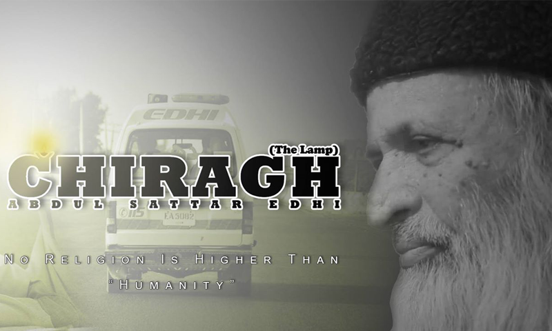 'Chiragh': A documentary on Abdul Sattar Edhi unveiled at Arts Council