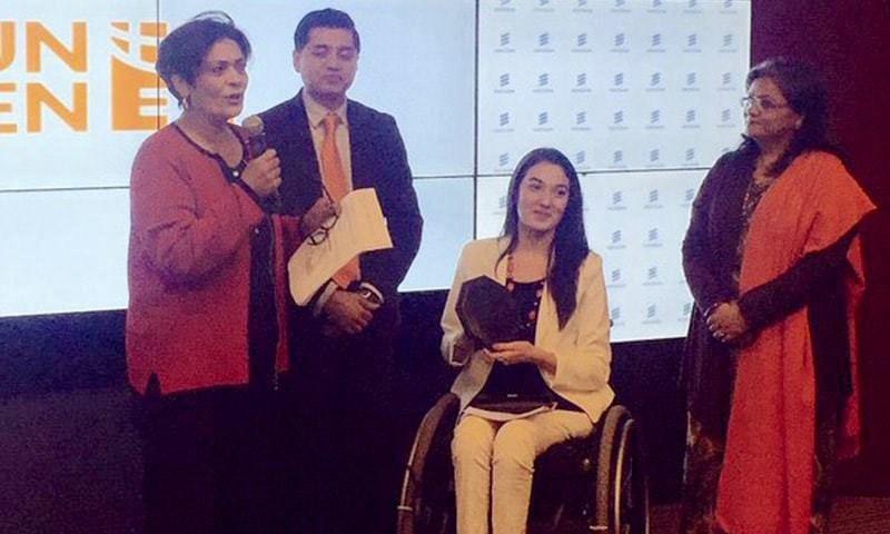 Muniba Mazari named Goodwill Ambassador by UN Women