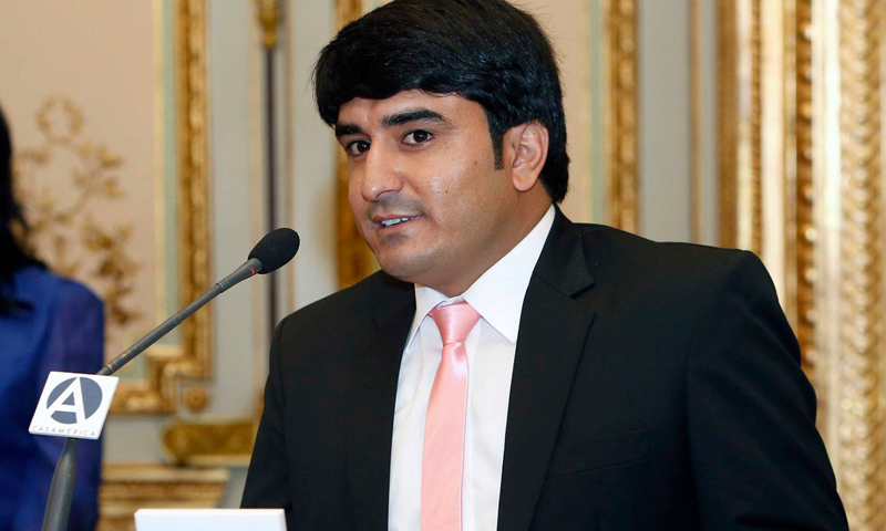 Pakistani journalist Haroon Janjua wins UNCA award in New York