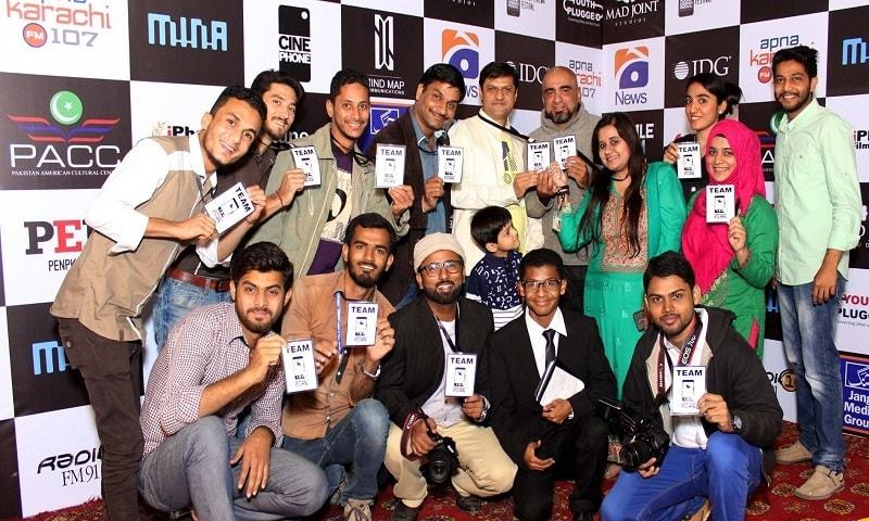 Pakistani film Secures 8th Position in first Smartphone Film Festival