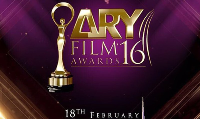 ARY Film Awards to take place in Dubai on February 18