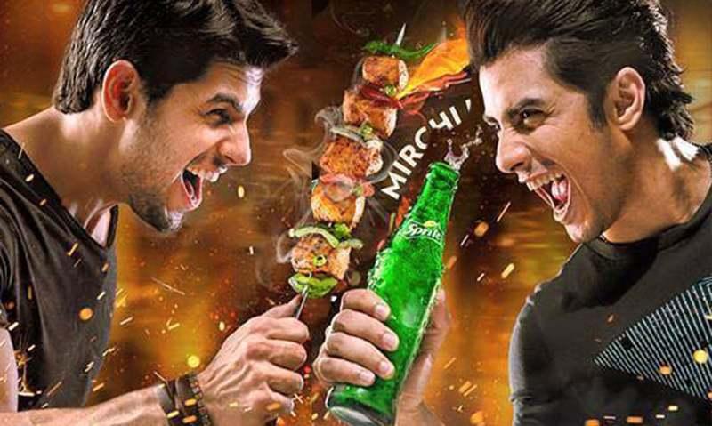 Ali Zafar and Sidharth Malhotra get chummy for Sprite