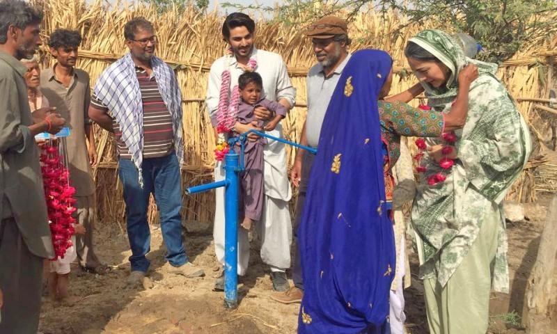 Team 'Udaari' spreads smiles on faces of locals in Mirpurkhas