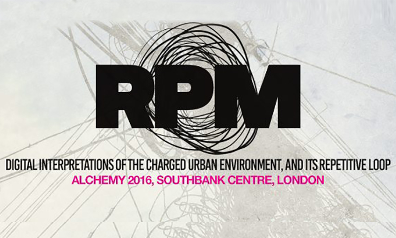 Salt Arts presents RPM at the Alchemy Festival 2016