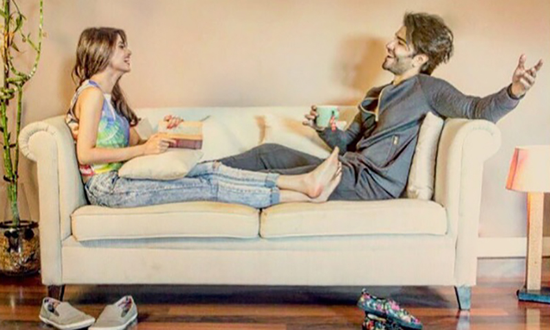 First Look: 'Zindagi' looks 'haseen' for Sajal Ali and Feroz Khan in ZKHH