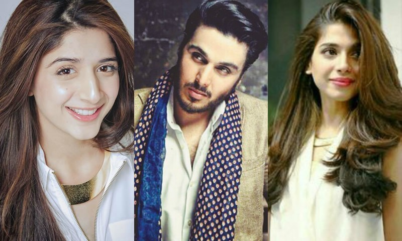 Sonya, Mawra, and Ahsan to appear in drama serial Haasil