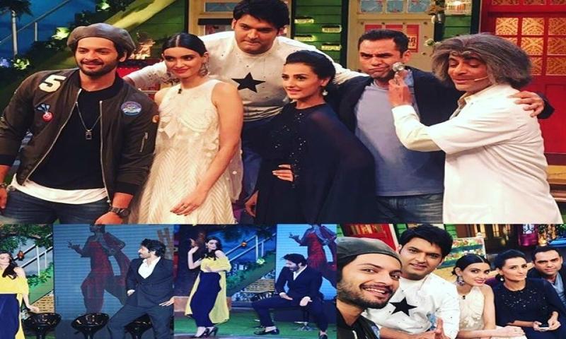 The cast of Happy Bhaag Jayegi appears on the Kapil Sharma Show - TV