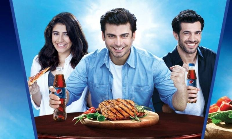 Pepsi's latest TVC featuring Fawad Khan and Syra Shahroz left us unamused