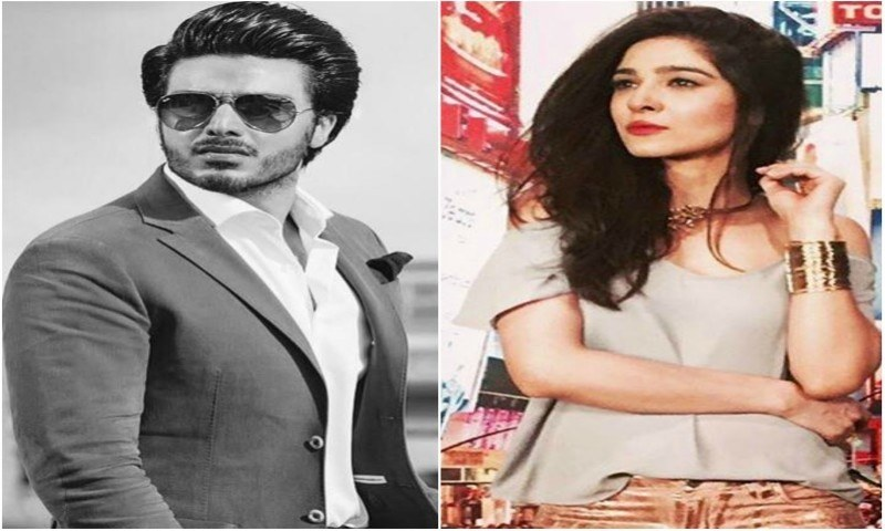 Ahsan Khan and Ayesha Omar have signed a movie together