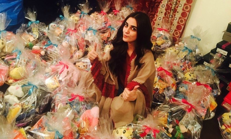 Maya Ali spreads happiness with Happy Baskets