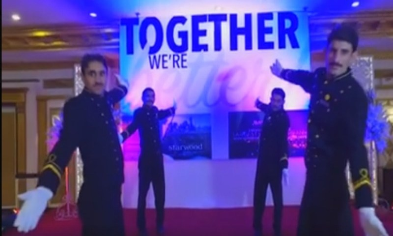 The Marriot celebration video is the best thing you will see all day!