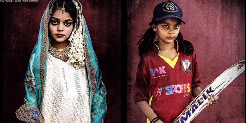 Fashion for a cause: New photo shoot highlights child marriage