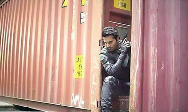 BTS of Humayun Saeed in 'Project Ghazi' will leave you stunned