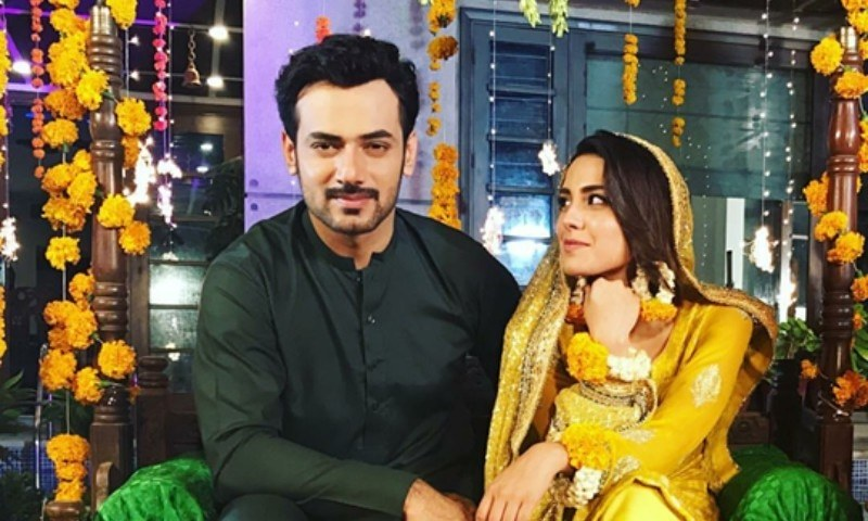Zahid Ahmed and Iqra Aziz will star together in 'Gustakh Ishq'