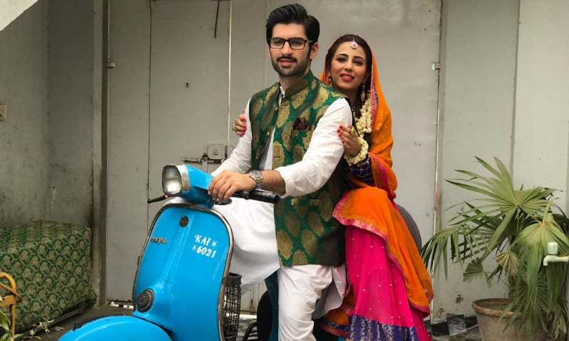 muneeb butt plays a tuition teacher alongside ushna shah for eid  muneeb butt plays a tuition teacher alongside ushna shah for eid telefilm