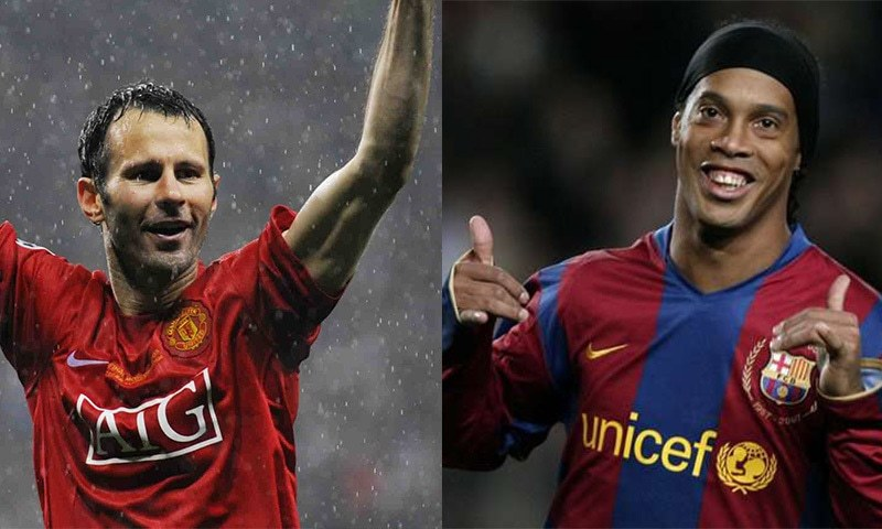 The biggest football event in Pakistan ever: Its Ronaldinho vs Giggs