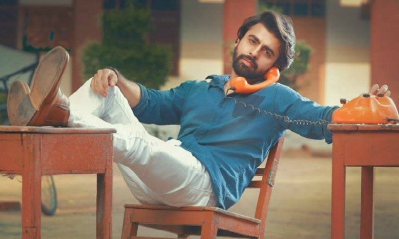 Is this Farhan Saeed we spotted on the 'Punjab Nahi Jaungi' sets?