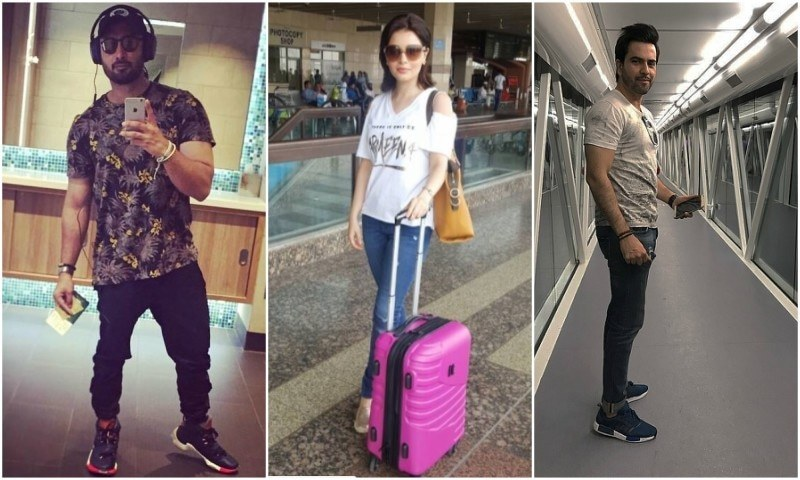 How celebrities stay calm and comfy while slaying airport fashion