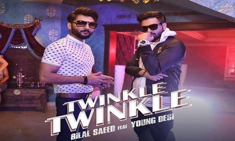 The children's nursery rhyme has better lyrics than Bilal Saeed's 'Twinkle Twinkle'