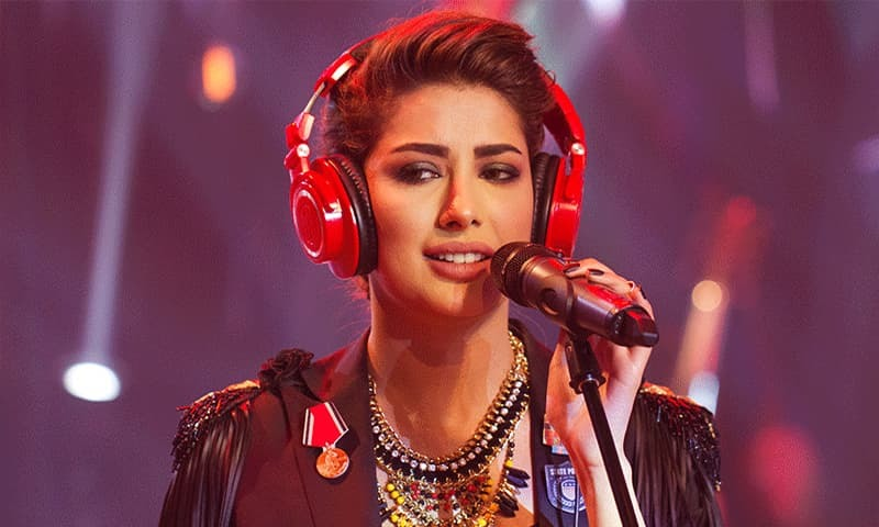 Mehwish Hayat is intent on fulfilling her musical dreams