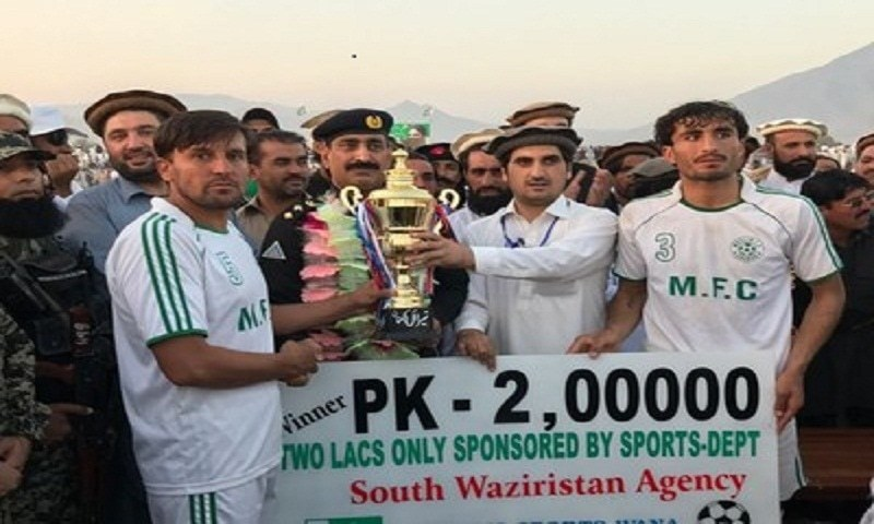 Muslim FC triumphant in the Peace Cup held in Wana, Waziristan