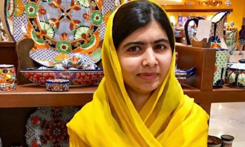 Malala Yousafzai attends first lecture at Oxford on the anniversary of being shot!