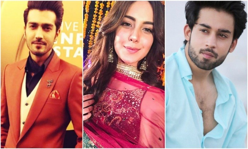 Iqra Aziz ,Shahzad Sheikh and Bilal Abbas Khan pair up for Qurban on ARY Digital