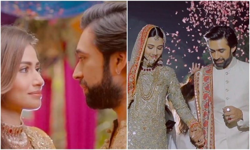 "Sana Javed and Ali Rehman Khan sizzle together in ""Qubool Hai"""