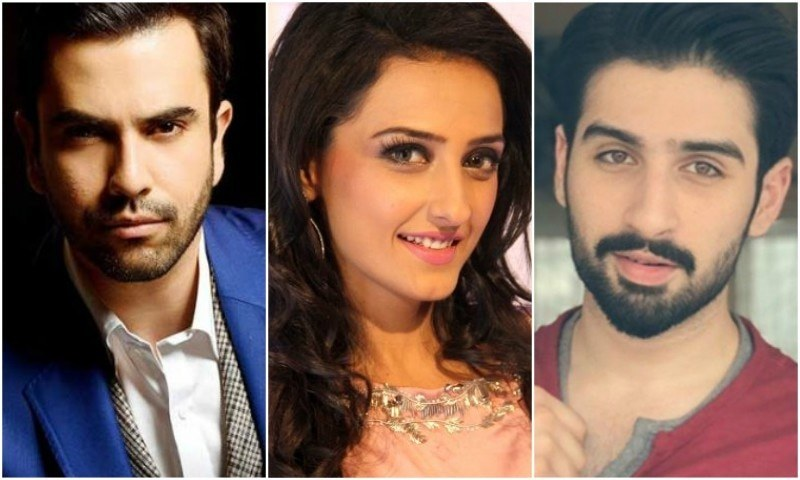 Junaid Khan, Momal Sheikh and Muneeb Butt pair up for 'Silsilay' on Geo