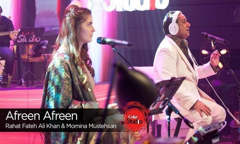 Coke Studio's rendition of 'Afreen Afreen' crosses 100 million views on YouTube.