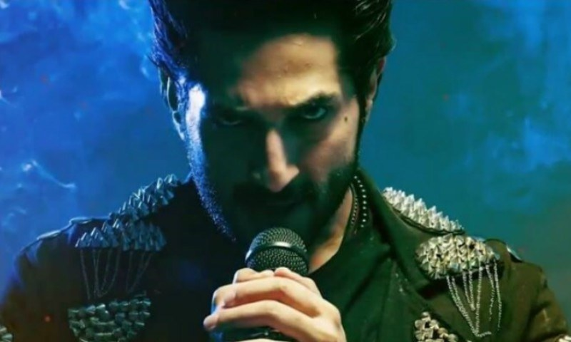 Bilal Ashraf wins us over with his rockstar image in the title track for Rangreza