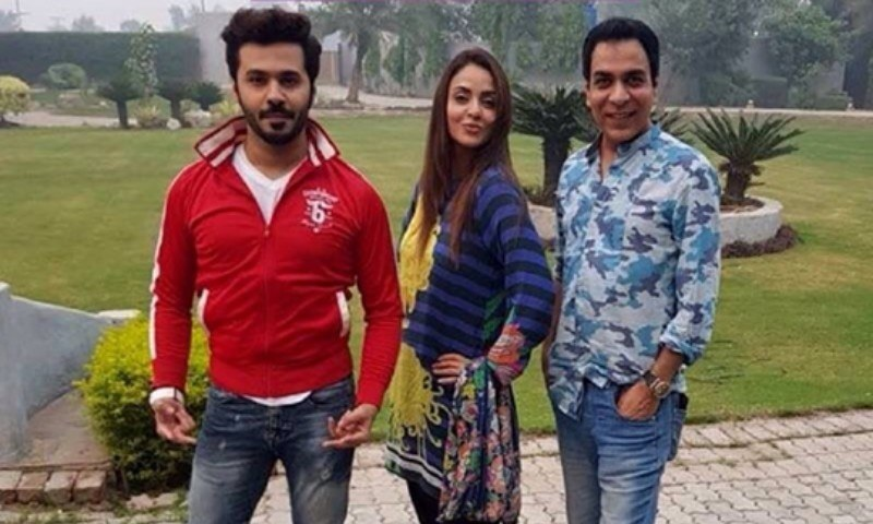 """Nadia Khan is a live wire on set,""  Saim Ali on his latest co-star"