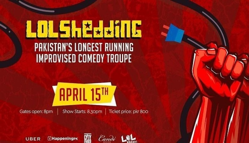 Are you ready to laugh your heads off with Ali Gul Pir and Lol- Shedding!