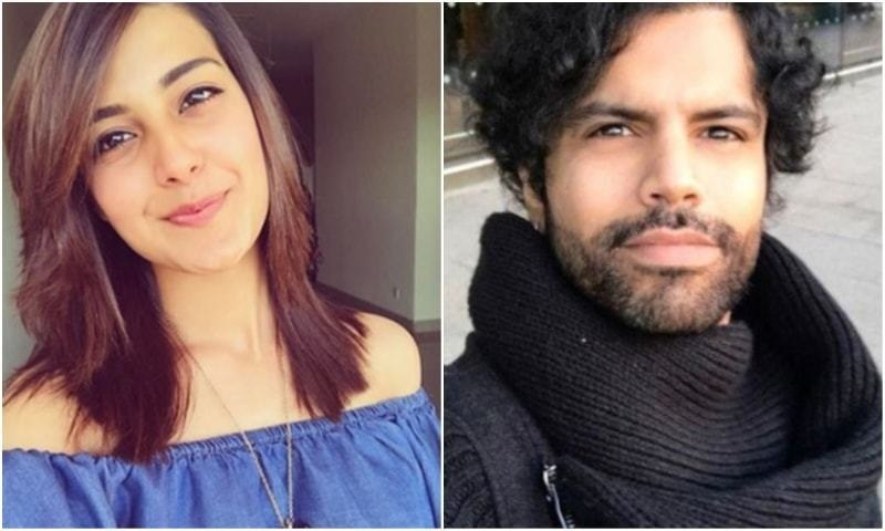 Iqra Aziz and Fahad Hussain of Citrus Talent feud resolved with a hug
