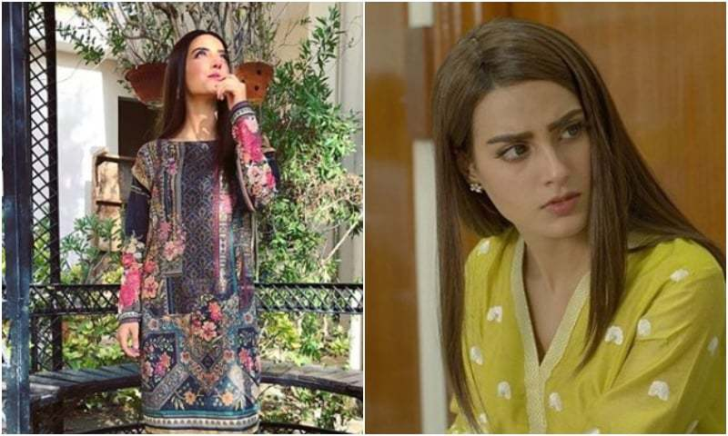 Iqra Aziz had her style game on point in Suno Chanda; thanks to alkaram