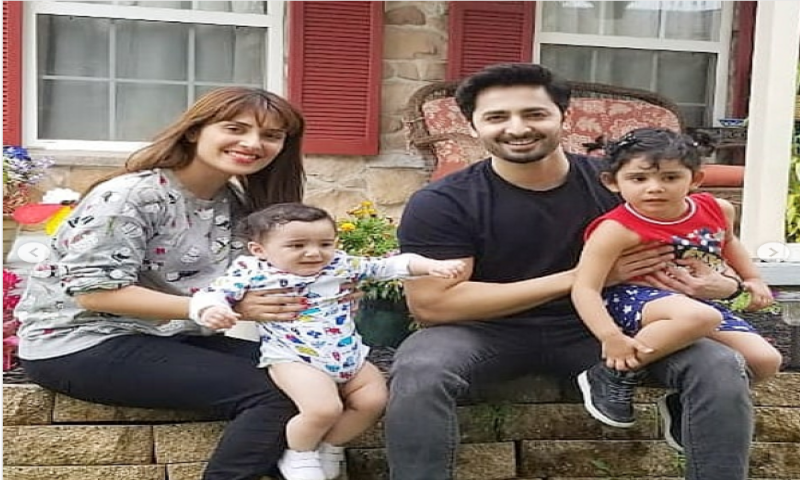 5 times Ayeza Khan and Danish Taimoor gave us family goals!