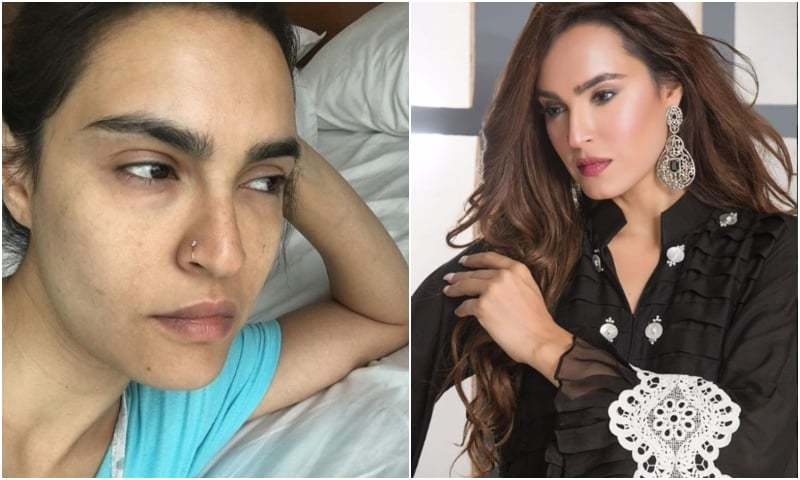 Nadia Hussain hits back at trolls over her make-up free look!