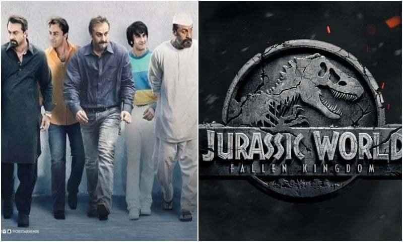 Weekend Recap: Sanju Breaks  Records, Jurassic Emerges Super Hit
