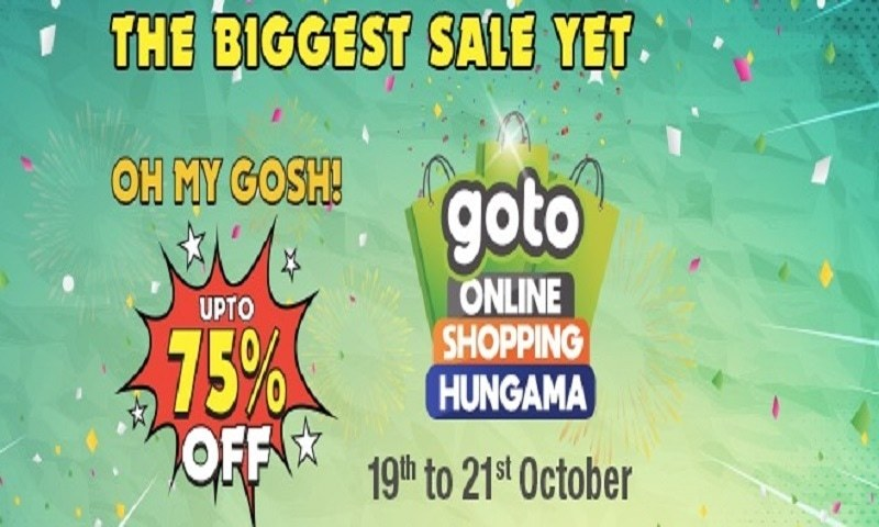 It's time to go crazy with THE BIGGEST SALE YET! OH MY GOSH. Let's Goto