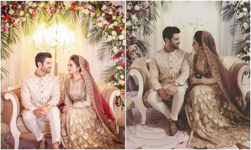 Aiman Khan & Muneeb Butt are now official nikkahfied!