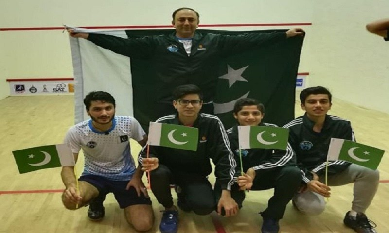 Pakistan clinch Asian Junior Squash Team Championship