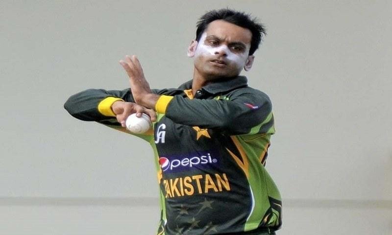 Pakistan missing the Hafeez choke!