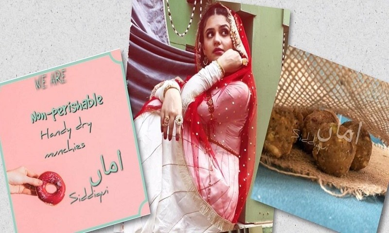 Zara Noor Abbas is starting a home made food venture