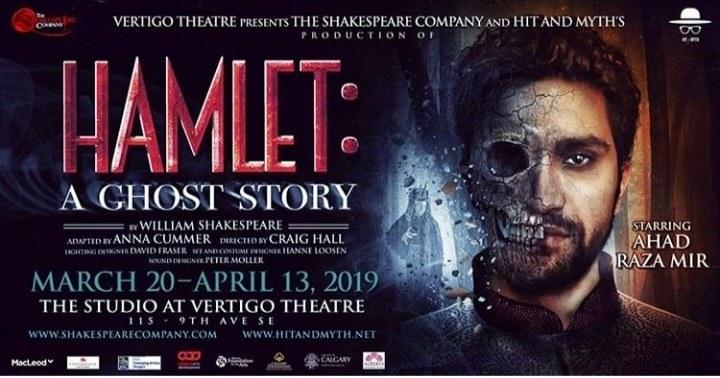 Ahad Raza Mir Revealed the Poster of Hamlet