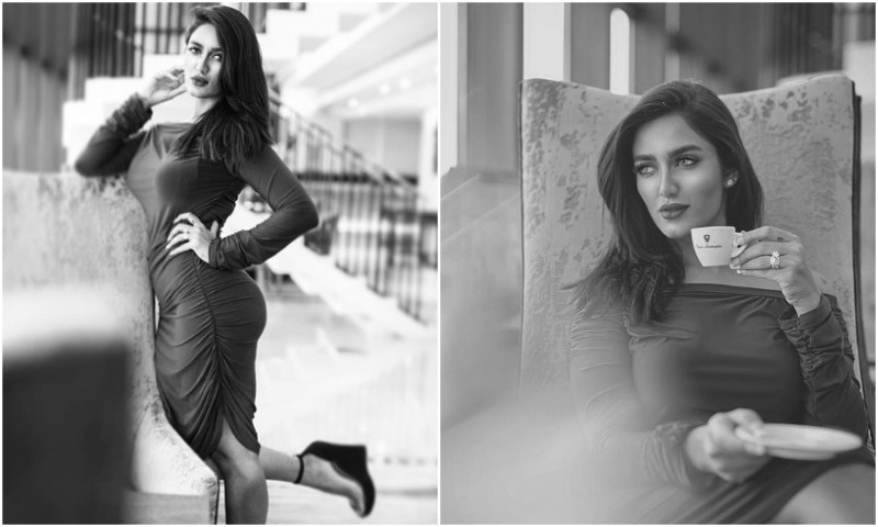 The sultry and sizzling Mathira featured in Naseebo Laal's latest!