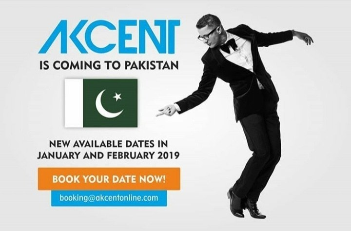 Akcent is coming to Pakistan