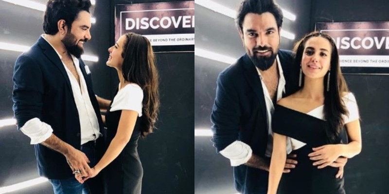 Iqra Aziz calls Yasir Hussain 'The most positive guy in her life'