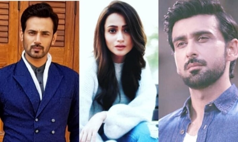 Exclusive: Zahid Ahmed, Zarnish Khan and Sami Khan Shoot For Play 'Ishq Zahe Naseeb'