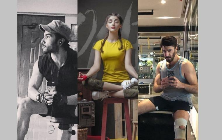 Five Stars Rocking Their Gym Looks